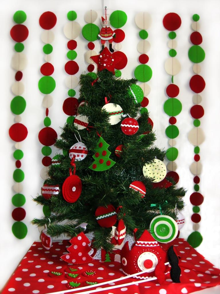 Новогодние украшения для дома и ёлки своими