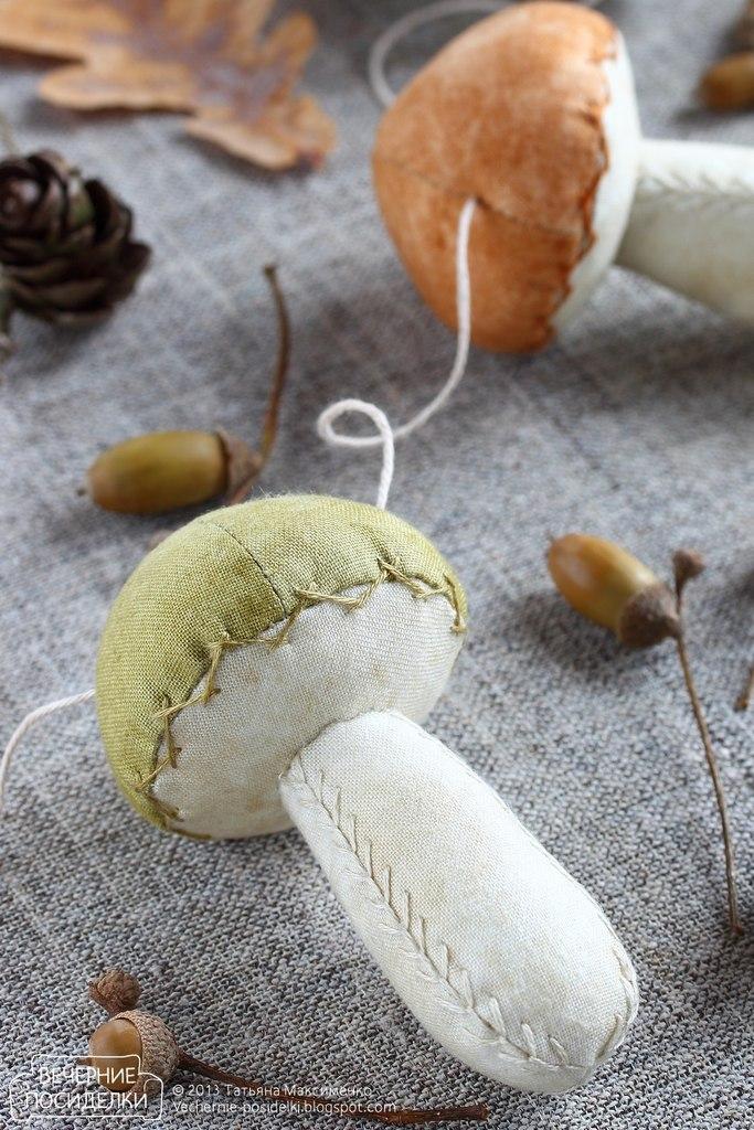Игрушка гриб своими руками для
