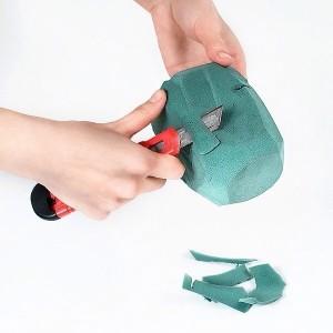 Новогодняя ёлочная игрушка из бумаги своими руками