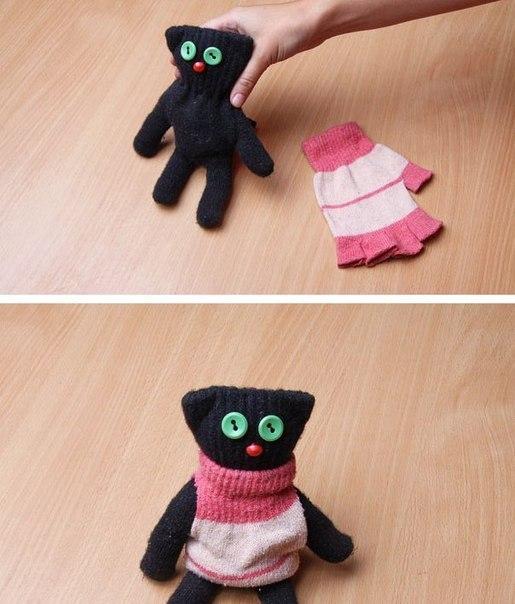 Как сделать игрушка для котенка в домашних условиях