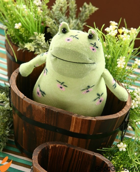 Игрушка лягушка своими руками
