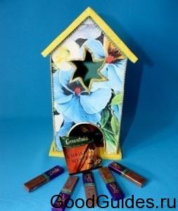домик для чайных пакетиков