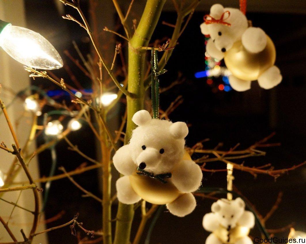 Новогодняя снежинки своими руками на елку